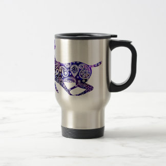The Universe and the Deer Travel Mug