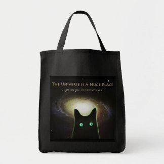 The Universe Is A Huge Place Tote Grocery Tote Bag