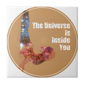 The Universe is Inside You Series Ceramic Tile