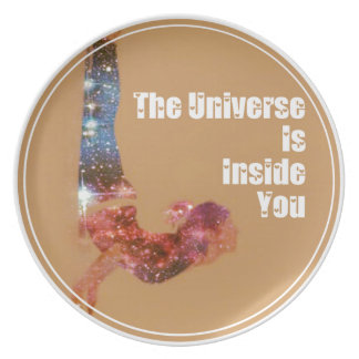 The Universe is Inside You Series Plate