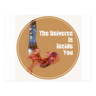 The Universe is Inside You Series Postcard