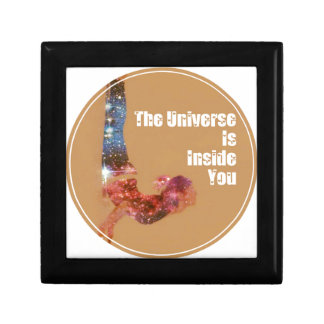 The Universe is Inside You Series Small Square Gift Box
