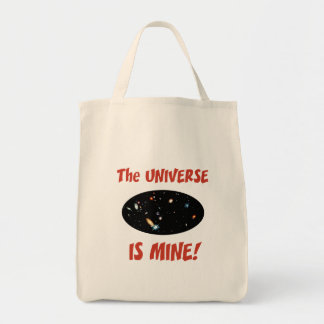 The Universe Is Mine Bags