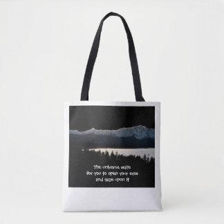 The Universe Waits Tote Bag