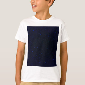 The Universe with Blue Stars T-Shirt