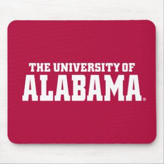 The University Of Alabama Wordmark Mousepad