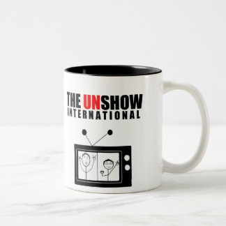 The Unshow Unsmall Beverage Holder Two-Tone Coffee Mug