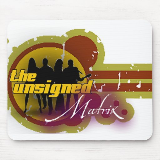 The Unsigned Matrix  Mouser Mousepad