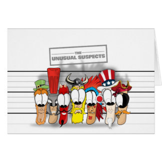The Unusual Suspects Cards
