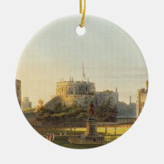 The Upper Ward, Windsor Castle, from 'Royal Reside Ceramic Ornament