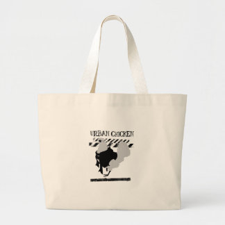 The Urban Chicken Large Tote Bag