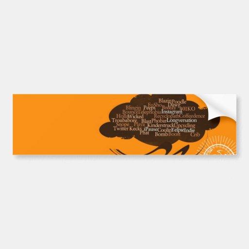 The Urban Cloud Bumper Stickers