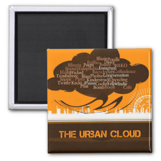 The Urban Cloud Refrigerator Magnets