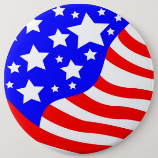 The USA 6 Cm Round Badge