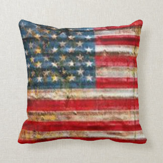 THE USA FLAG THROW PILLOW