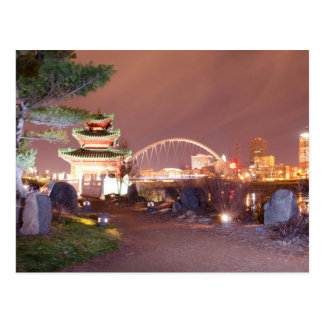 The USA - Iowa - Monks - Chinese Pagoda Postcard