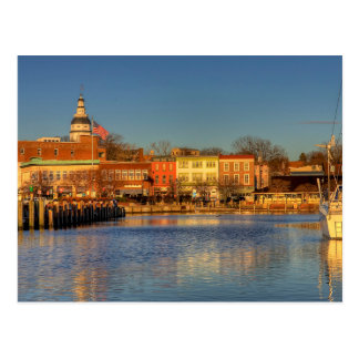 The USA - Maryland - Annapolis - City Dock (Ego Postcard