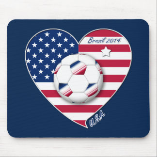 The USA National Soccer Team Soccer of the United  Mouse Pads