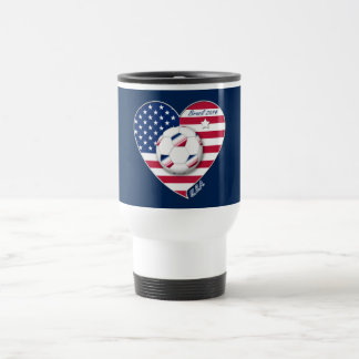 The USA National Soccer Team Soccer of the United  Mugs
