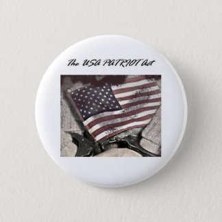 The USA Patriot Act 6 Cm Round Badge