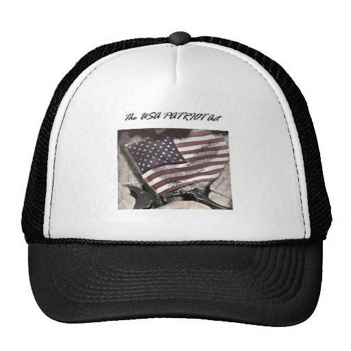 The USA Patriot Act Hats
