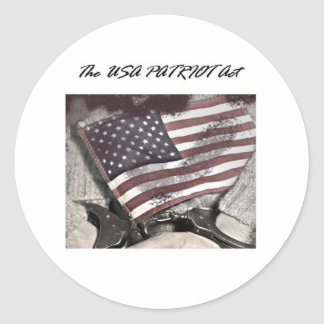 The USA Patriot Act Stickers