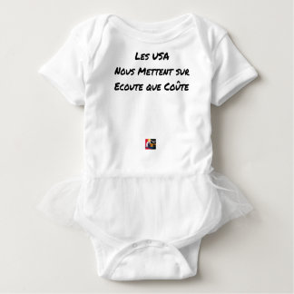 THE USA PUT TO US ON LISTENING THAT COSTS BABY BODYSUIT