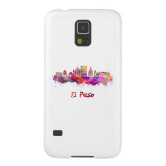 The V2 Step skyline in watercolor Galaxy S5 Case