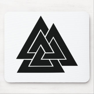 The Valknut Mouse Pad