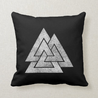 The Valknut Norse Viking Design Cushion