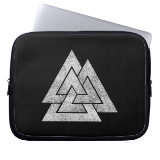 The Valknut Norse Viking Design Laptop Sleeve