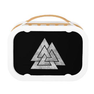 The Valknut Norse Viking Design Lunch Box