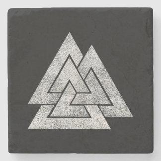 The Valknut Norse Viking Design Stone Coaster