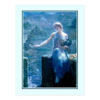 'The Valkyrie's Vigil' Postcard