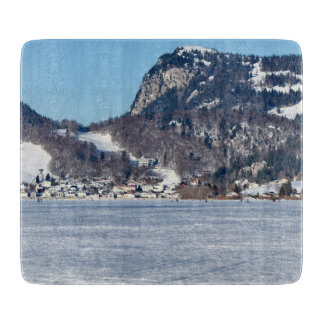 The valley of Joux in the Canton of Vaud Cutting Board