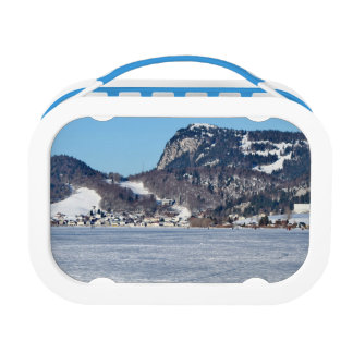 The valley of Joux in the Canton of Vaud Lunch Box