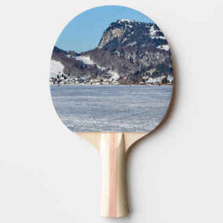 The valley of Joux in the Canton of Vaud Ping Pong Paddle