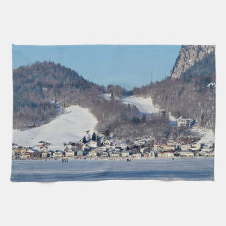 The valley of Joux in the Canton of Vaud Tea Towel
