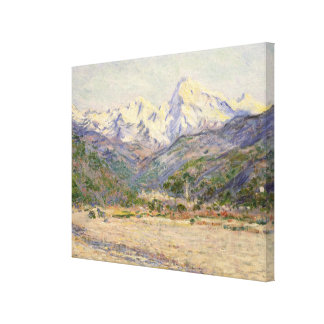 The Valley of the Nervia Canvas Print