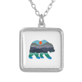 THE VALLEY PASSAGE SILVER PLATED NECKLACE