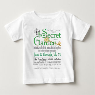The Valley Players' Secret Garden Apparel Tshirt