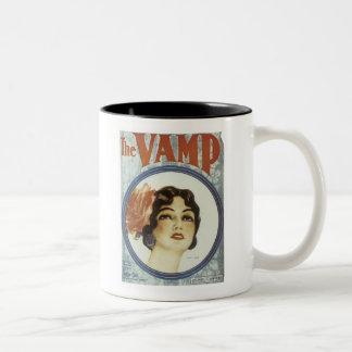 The Vamp 2 Vintage Songbook Cover Coffee Mugs