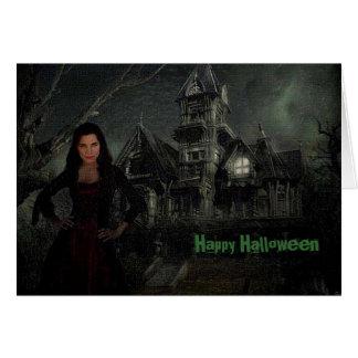 The Vamp Halloween Card