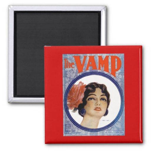 The VAMP Fridge Magnet