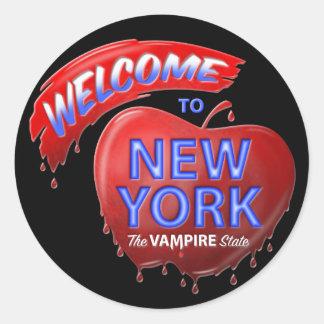 The Vampire State Classic Round Sticker