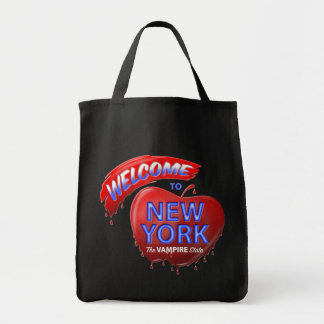 The Vampire State Grocery Tote Bag