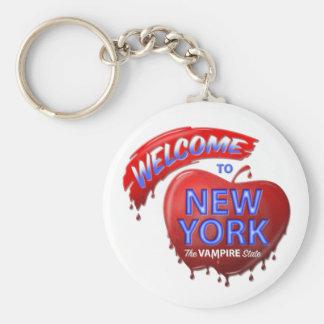 The Vampire State Keychain