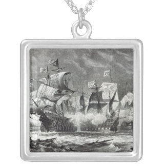 The Vanguard, under Sir William Winter Silver Plated Necklace