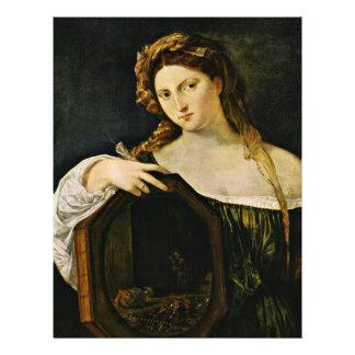 The Vanity Of Earthly Things (Vanitas) By Tizian Custom Flyer