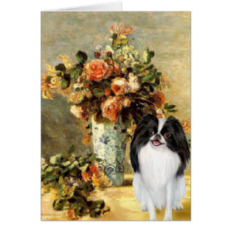 The Vase - Japanese Chin 2 Card
